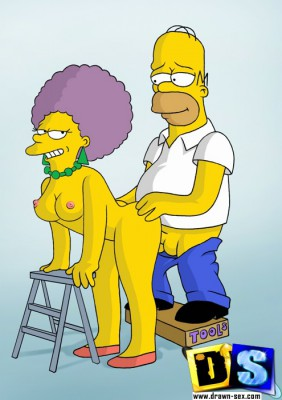 hot simpsons porn scene