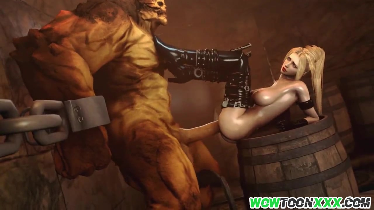 3d cartoon monster porn