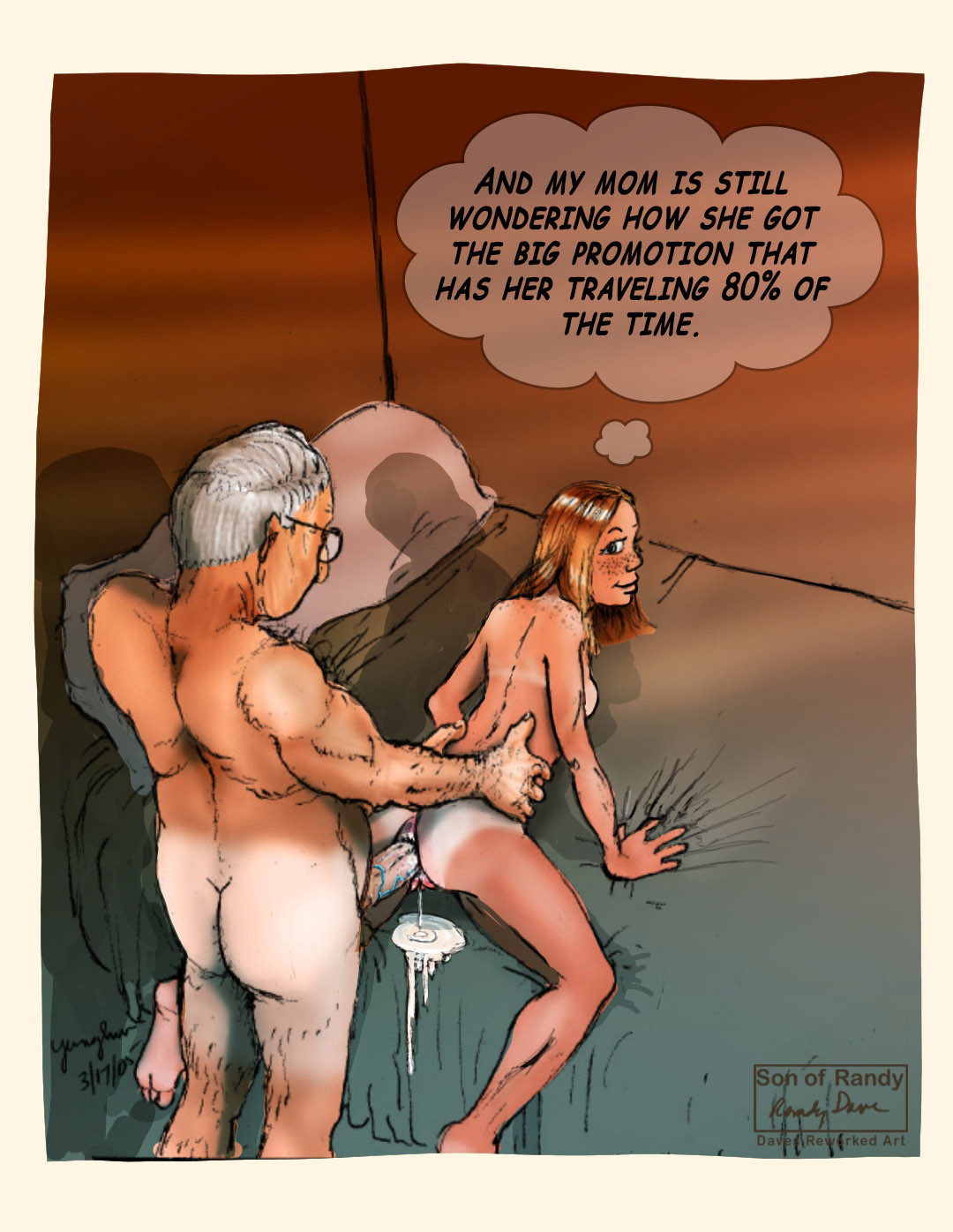 dave incest cartoon porn