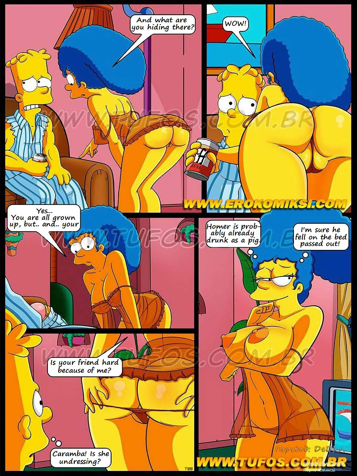 the simpsons porn cartoon